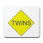Twins Sign Mousepad