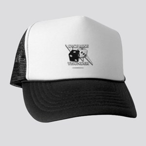 Dice Like Thunder Emblem Trucker Hat