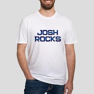 josh rocks Fitted T-Shirt