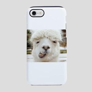 Funny Alpaca Smile iPhone 8/7 Tough Case