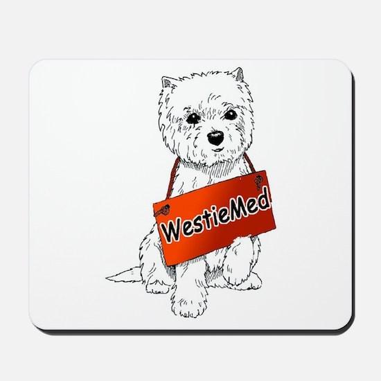 WestieMed Logo Mousepad