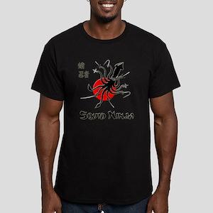 Squid Ninja Men's Fitted T-Shirt (dark)