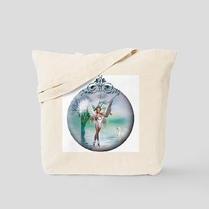 Swan Lake Globe Tote Bag