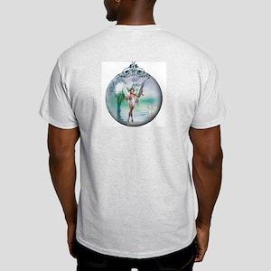 Swan Lake Globe Ash Grey T-Shirt