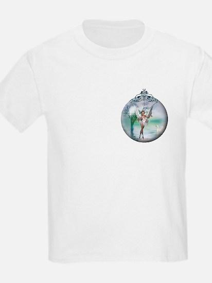 Swan Lake Globe Kids T-Shirt