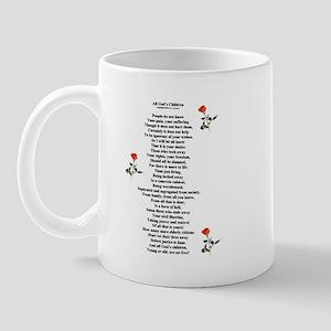 All God's Children Mug