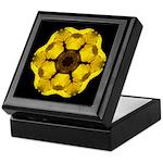Yellow Pansy I Keepsake Box