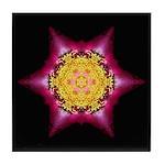 Violet Peony I Tile Coaster