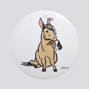Easter Pony Ornament (Round)