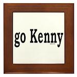 go Kenny Framed Tile