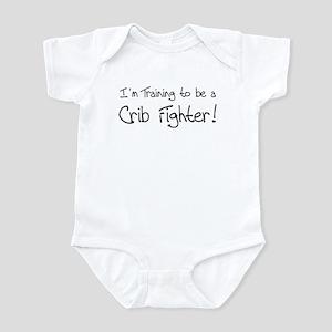 I'm Training to be a Crib Fig Infant Bodysuit