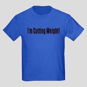 I'm Cutting Weight! Kids Dark T-Shirt