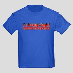 Cutting Weight! Get out of my Kids Dark T-Shirt