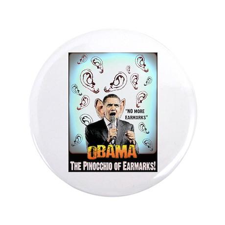 """anti obama earmarks 3.5"""" Button"""