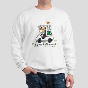 Retired and Golfing Sweatshirt