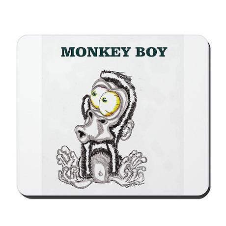 Monkey Boy 2 Mousepad