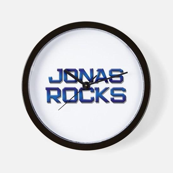 jonas rocks Wall Clock