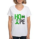 Cerebral Palsy Hope Women's V-Neck T-Shirt