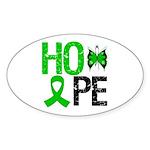 Cerebral Palsy Hope Oval Sticker (50 pk)