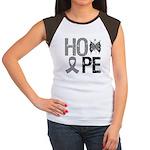 Brain Cancer Hope Women's Cap Sleeve T-Shirt