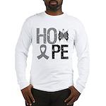 Brain Cancer Hope Long Sleeve T-Shirt