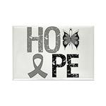 Brain Cancer Hope Rectangle Magnet (10 pack)