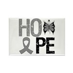 Brain Cancer Hope Rectangle Magnet (100 pack)