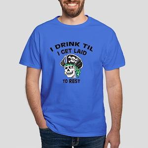 Drinking Irish Ass Pirate: Dark T-Shirt
