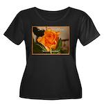 Women's Plus Size T-Shirt/Orange Rose Meaning