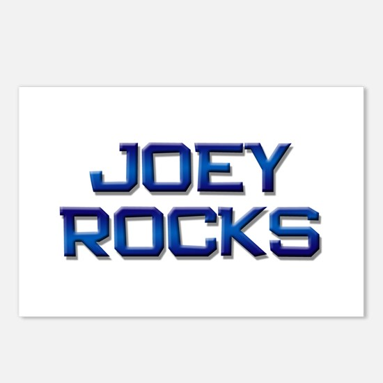 joey rocks Postcards (Package of 8)