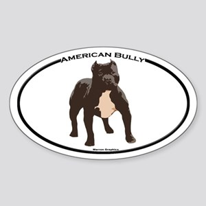 Bully!! Oval Sticker