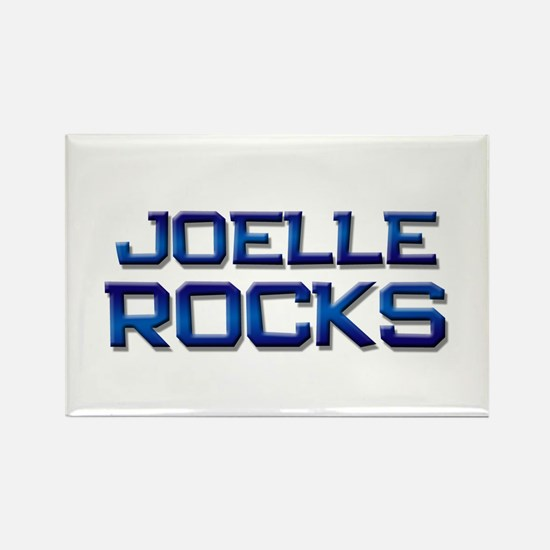 joelle rocks Rectangle Magnet