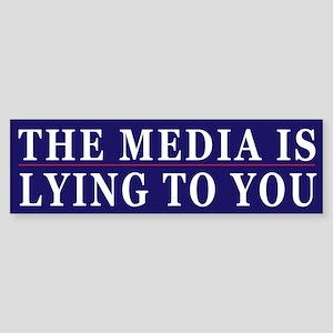 Controlled Mass Media Humor Sticker