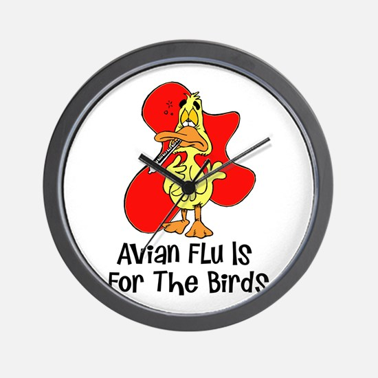 Avian Flu Wall Clock