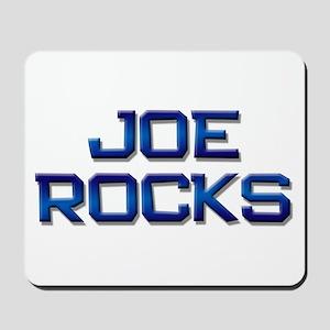 joe rocks Mousepad