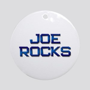 joe rocks Ornament (Round)