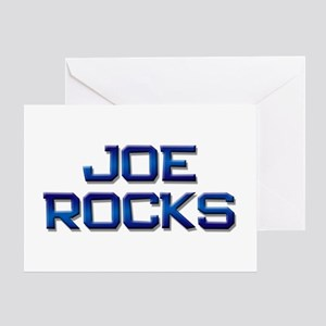 joe rocks Greeting Card
