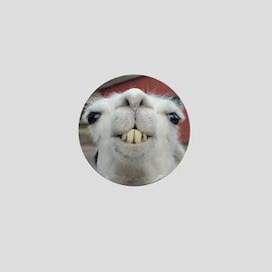Funny Alpaca Llama Mini Button