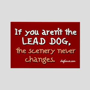 Lead Dog Alt. Rectangle Magnet