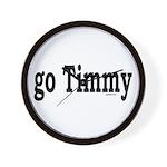 go Timmy Wall Clock