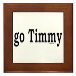 go Timmy Framed Tile