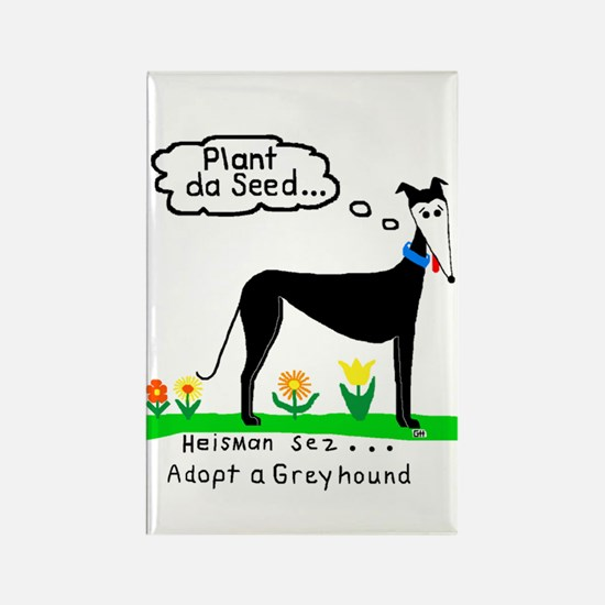 PLANT DA SEED RECTANGLE MAGNET