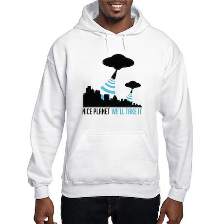 Nice Planet - Hooded Sweatshirt