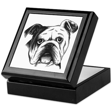 English Bulldog Keepsake Box