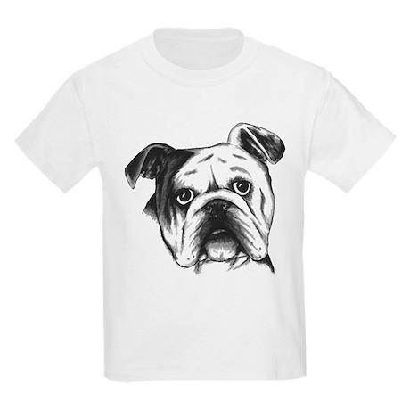 English Bulldog Kids Light T-Shirt
