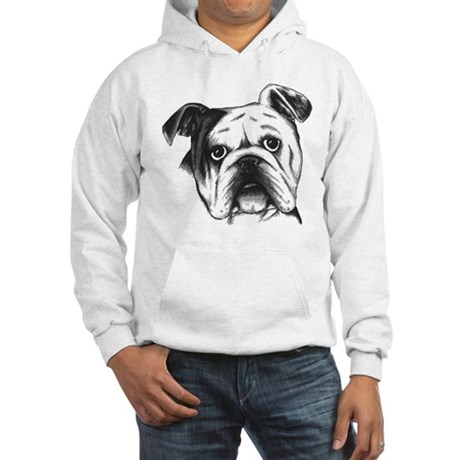 English Bulldog Hooded Sweatshirt
