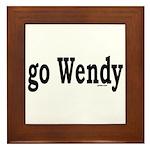 go Wendy Framed Tile