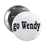 """go Wendy 2.25"""" Button (100 pack)"""