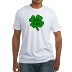 Irish Nurse Fitted T-Shirt