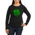 Irish Nurse Women's Long Sleeve Dark T-Shirt